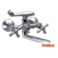 Смеситель для ванны HAIBA 142 DOMINOX SATIN