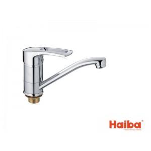 Смеситель для кухни HAIBA 555 GERMES ГАЙКА 15 см.