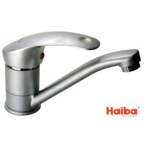 Смеситель для кухни HAIBA 004 MARS SATIN 15 см.