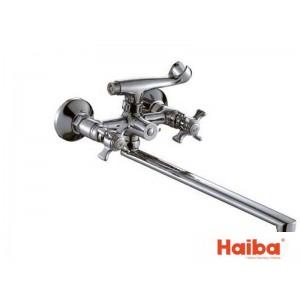 Смеситель для ванны HAIBA 140 ZEUS EURO