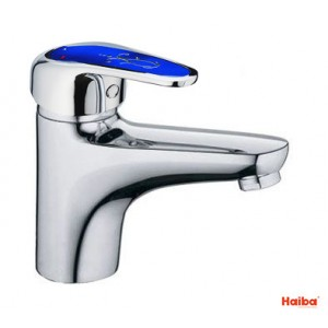 Смеситель для умывальника HAIBA 001 MAGIC BLUE