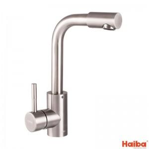 Смеситель для умывальника HAIBA SUS-001-F из нержавеющей стали 001