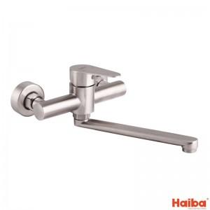 Смеситель настенный для кухни HAIBA 005 SUS304 из нержавеющей стали