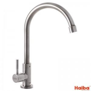 Смеситель для одной воды HAIBA MONO-01 из нержавеющей стали