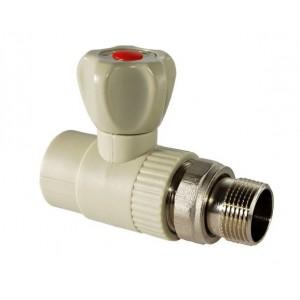 Europroduct ППР Кран радиаторный прямой - 25x3/4'  НР