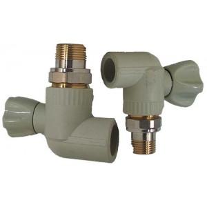 Europroduct ППР Кран радиаторный угловой - 25x3/4'  НР