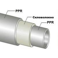 Europroduct Труба полипропиленовая стекловолокно Ø25