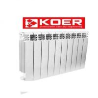 Радиатор биметалический KOER 120  Bimetal-500 MAXI