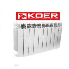 Радиатор биметалический KOER 100  Bimetal 96/500