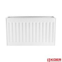 KOER Стальной радиатор 11 x 500 x 1000S  боковое подключение.