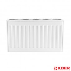KOER Стальной радиатор 11 x 500 x 400S  боковое подключение.