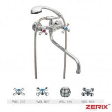 Смеситель для ванны ZERIX DMT