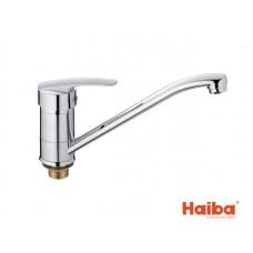 Смеситель для кухни HAIBA 555 AGAT ГАЙКА 25 см.