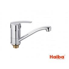 Смеситель для кухни HAIBA 555 AGAT ГАЙКА 15 см.