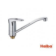 Смеситель для кухни HAIBA 555 CEBA ГАЙКА 25 см.