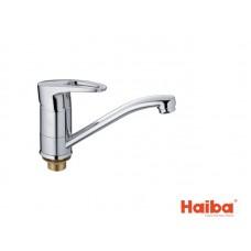 Смеситель для кухни HAIBA 555 CEBA ГАЙКА 15 см.
