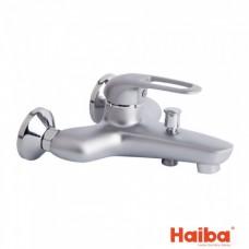 Смеситель для ванны кор HAIBA 009 COSMOS SATIN