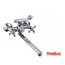 Смеситель для ванны HAIBA 140 DOMINOX