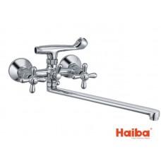 Смеситель для ванны HAIBA 143 DOMINOX