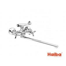 Смеситель для ванны HAIBA 150 DOMINOX