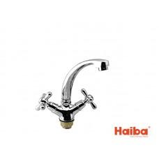 Смеситель для кухни HAIBA 272 DOMINOX ГАЙКА