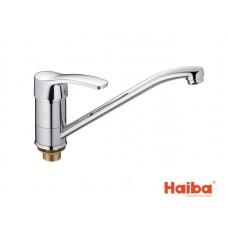 Смеситель для кухни HAIBA 555 FOCUS ГАЙКА 25 см.