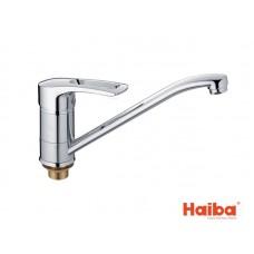 Смеситель для кухни HAIBA 555 GERMES ГАЙКА 25 см.