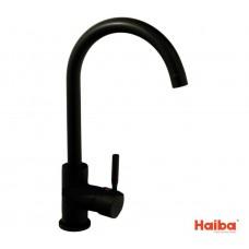 Смеситель для кухни УХО HAIBA 011 HANS BLACK