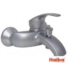 Смеситель для ванны кор HAIBA 009 MARS SATIN