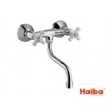 Смеситель настенный для кухни HAIBA 361 ODYSSEY