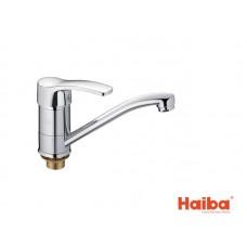 Смеситель для кухни HAIBA 555 ONIX ГАЙКА 15 см.