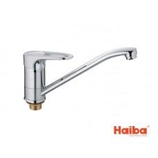 Смеситель для кухни HAIBA 555 OPUS ГАЙКА 25 см.