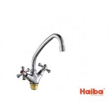 Смеситель для кухни HAIBA 271 SMES ГАЙКА