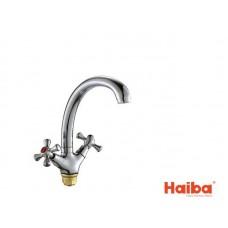 Смеситель для кухни HAIBA 273 SMES ГАЙКА