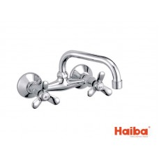 Смеситель настенный для кухни HAIBA 361 VILTA G