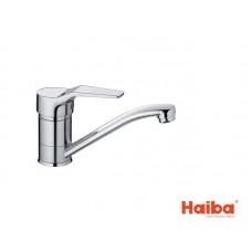 Смеситель для кухни HAIBA 004 ZEON 15 см.
