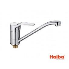 Смеситель для кухни HAIBA 555 ZEON ГАЙКА 25 см.