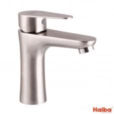 Смеситель для умывальника HAIBA SUS304 из нержавеющей стали 001