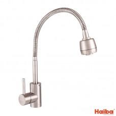 Смеситель для кухни УХО HAIBA SUS-011 REFLECTOR из нержавеющей стали 017