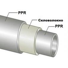Труба полипропиленовая стекловолокно Ø20