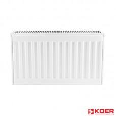 KOER Стальной радиатор 11 x 500 x 400S  боковое подключение